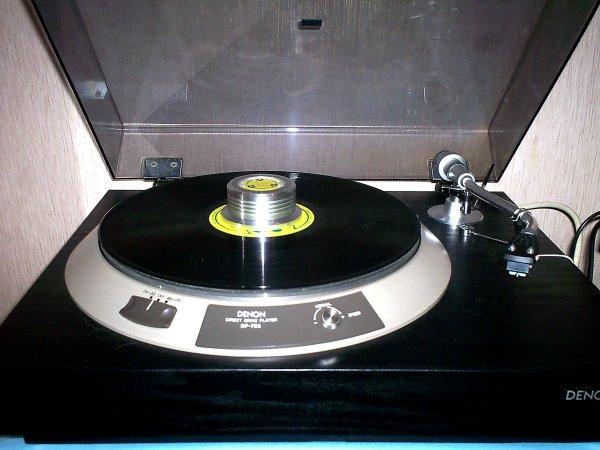 Тонармом denon da 305 1973 год супер звук