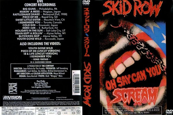 Skid Row  Official Site