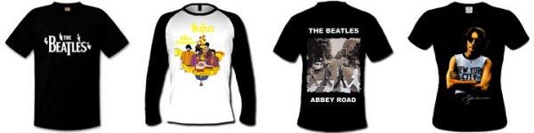 Большой выбор футболок с The Beatles.  Вот ссылка.  Дата.  Стоимость.