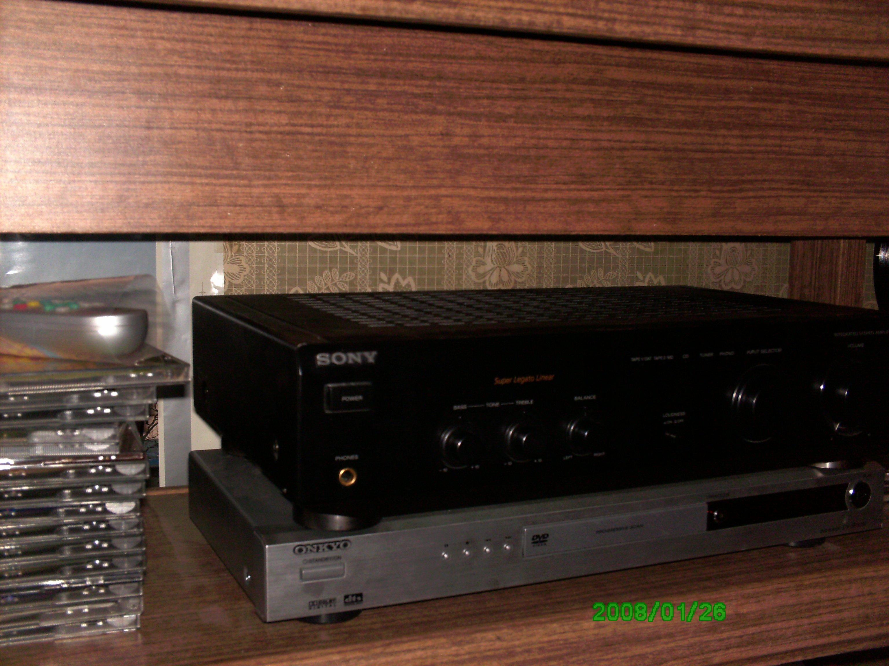 Аудио-видео техника. Стоимость. Продаю звонкий усилитель Sony TA-FE200 c прекрасным