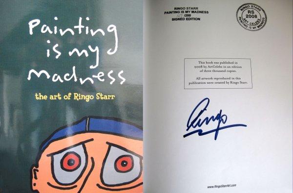 Автограф Ринго Старра