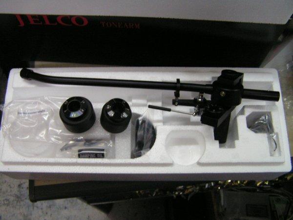 """Категория.  Предложение.  Продам тонарм JELCO SA-750LB 12 """" и кабель JELCO JAC-501 - все новое в упаковке."""