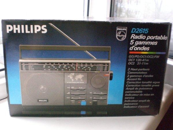 Радиоприёмник Philips D 2615.