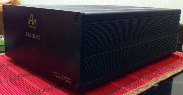 Стоимость.  ЦАП Audio Note DAC Zero Цап 24/96 с ламповым выходом Цвет черный.  Модернизирован в Германии (рызьемы...