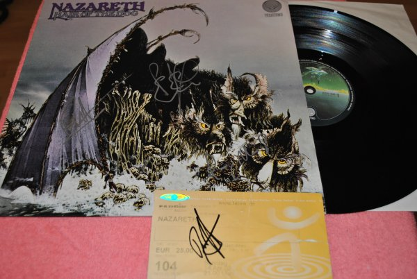 NAZARETH  - Hair Of The Dog - + автографы !!!