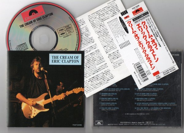 Eric Clapton discography  Wikipedia