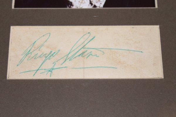 Продаю портреты -The Beatles-с оригинальными автографами (Ringo)