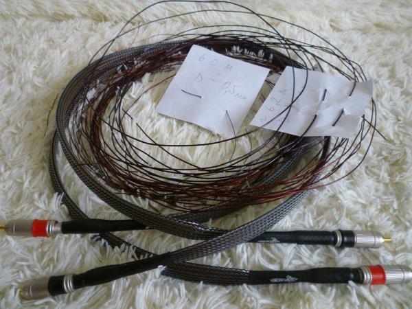 Межблочный кабель из литцендрата своими руками