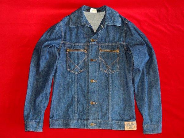 Винтажная джинсовая куртка вранглер