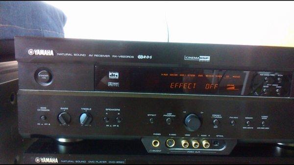 Yamaha av receiver rx-v620rds