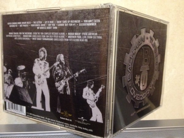 Bachman-Turner Overdrive – 40th Anniversary