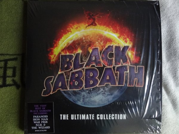 Black Sabbath The Ultimate Collection: Black Sabbath ‎– The Ultimate Collection 4 × Vinyl, LP 2016