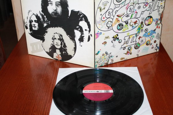 Led Zeppelin  --III ориг Ped Plum  1 пресс   UK  состояние Ex++\ NM