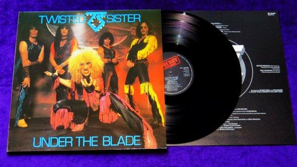 Виниловая пластинка Twisted Sister Under The Blade