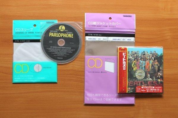Наружные и внутренние пакеты для минивинила (minilp-CD) Nagaoka (Япония)