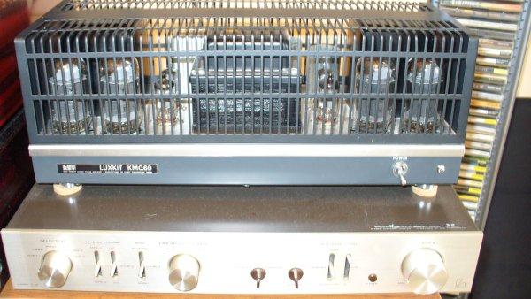 LUXMAN KMQ-60 -(LUXMAN CL-32 -комплект НОВЫХ ламп для мощника)