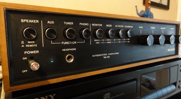 Усилитель Sony TA-70