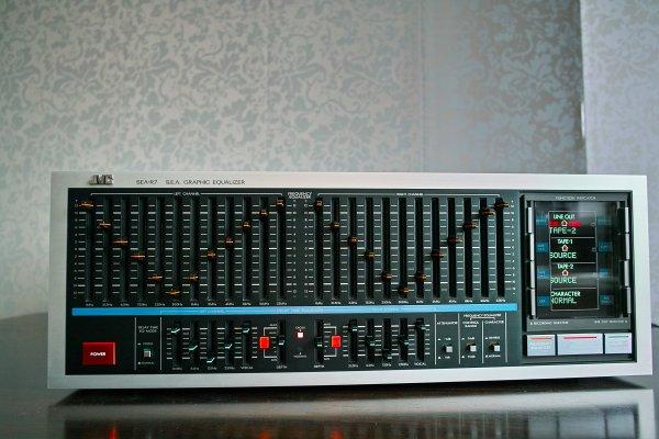 JVC SEA R-7 1984 эквалайзер.
