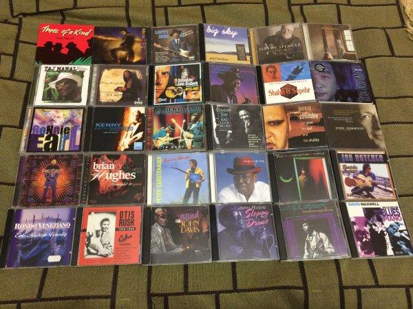 ФИРМЕННЫЕ CD, МНОГИЕ ДЁШЕВО!!! (blues, fusion, funk, pop, rock, jazz) - USA, EU, продажа, обмен