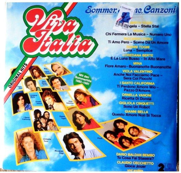 VIVA♥ITALIA Sommer, Sonne, Canzoni ©1981 (2 LP) и другие пласты─◄★REAL★►®◄─♫-♪--●