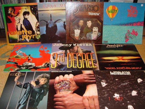 Винил R-Z, блюз, джаз, оркестры, поп-диско, макси-синглы