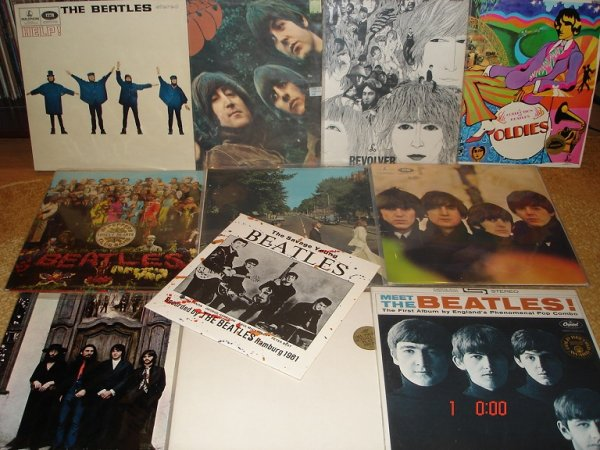 The Beatles... + сольники...