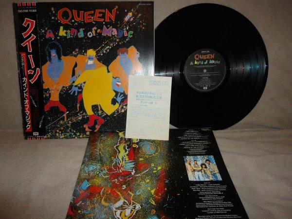 Queen A Kind of Magic Japan EMS-91168 OBI NM
