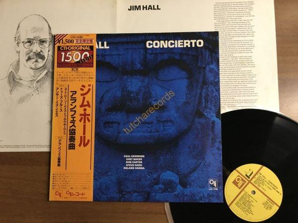 """"""""""" Jim Hall - Concert- CTI Records – LAX 3186- JAPAN пресс 1978 года MINT- от 1 рубля РАСПРОДАЖА по ДЖАЗУ закончиться СЕГОДНЯ вечером, так же ROCK , NEW WAVE, ELECTRONICA, DISCO, СПИСОК СМОТРИТЕ НИЖЕ"""