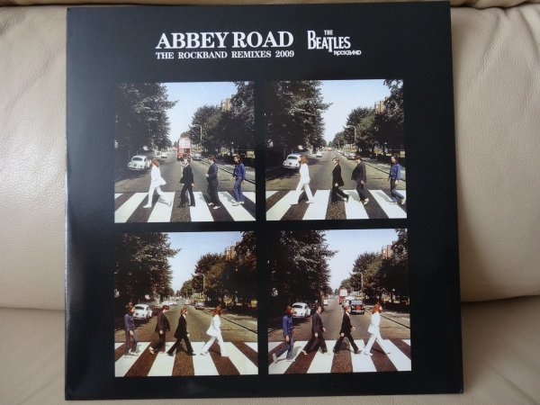 THE BEATLES ABBEY ROAD ROCK BAND REMIXES  LP by SDR