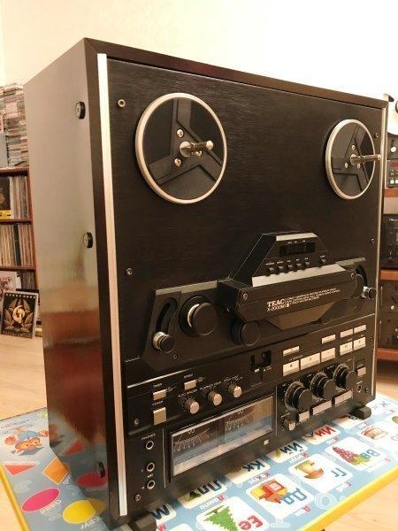Катушечный магнитофон TEAC X-2000M в деревянном корпусе с ТО 99 т.р. c доставкой по РФ