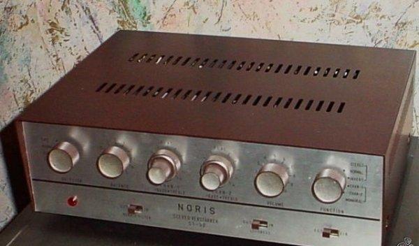Noris ST-32 ламповый интегральный усилитель