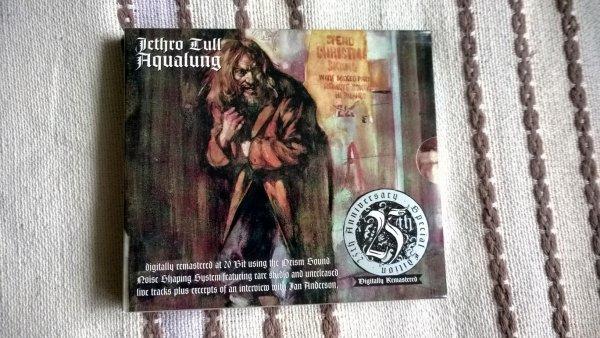 "Jethro Tull-""Aqualung"" (Издание 96-го года).Англия."