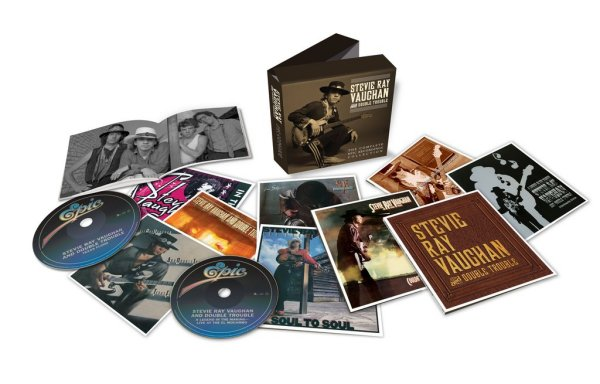 Stevie Ray Vaughan -The Complette 12 CD-BOX-SET из Европы ─★SEALED★►®◄─♫-♪--●─◄