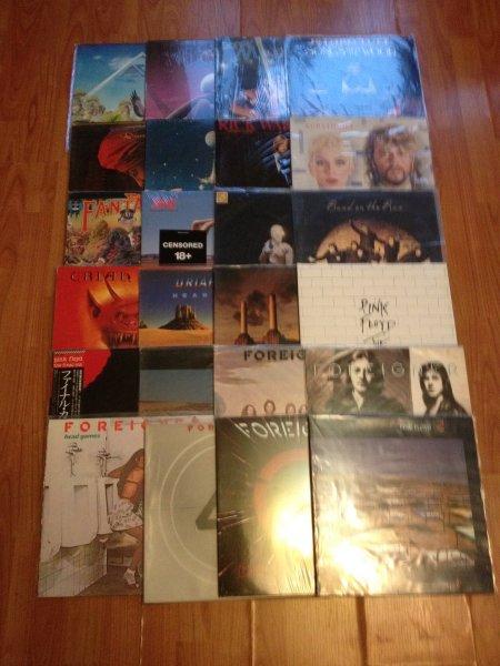 Pink Floyd, Uriah Heep, Manfred Mann, Foreigner, ELO, Space и др.