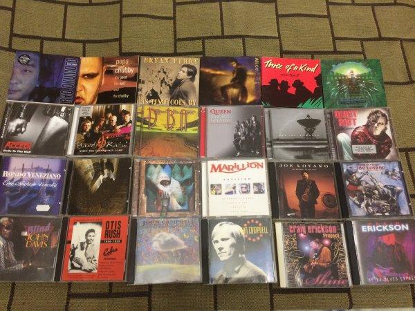 НОВЫЕ ПОСТУПЛЕНИЯ - Фирменные CD (blues, rock, jazz), есть редкие.