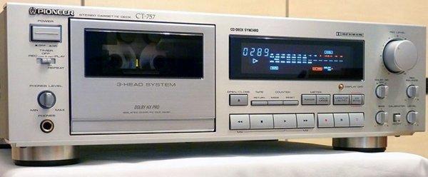 Кассетная дека Pioneer CT-757 (Japan)