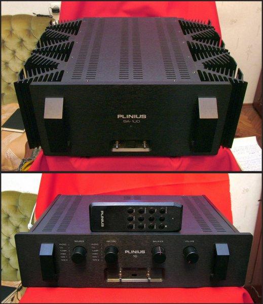 Plinius SA-100 mkIII, M-16. Усилитель мощности + пред. HI-END