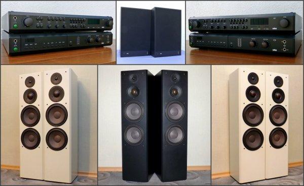 BRAUN Atelier a/d/s - R1, C2, CD2. ♦ LS - 120/130/150. Винтаж, Германия