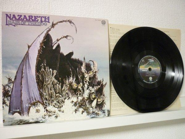 НАЗАРЕТ - Собачья шерсть - Япония 1975 LP оригинал