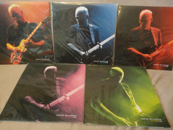 David Gilmour Live In Gdansk 5L