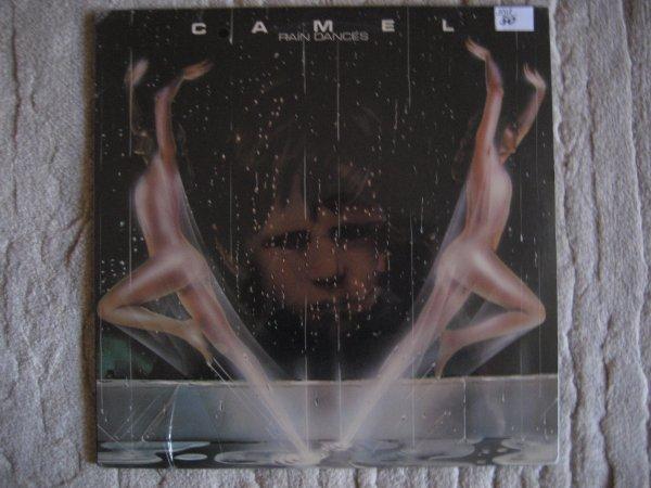 CAMEL - RAIN DANCES  USA ORIG LP SEALED!!!!!!!!
