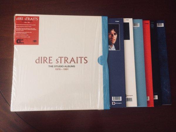 Dire Straits -The Studio Albums 1978-1991 (8LP)
