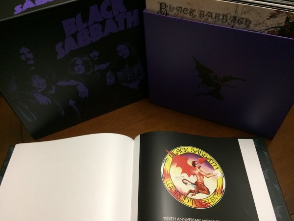 Black sabbath the vinyl collection 1970-1978(mint)