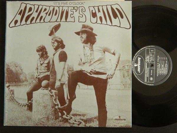 Aphrodite's Child - It's Five O'Clock - RARE ORIG. LP!