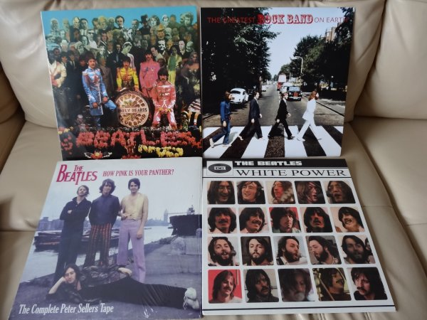 THE BEATLES WHITE POWER Bootleg LP and more