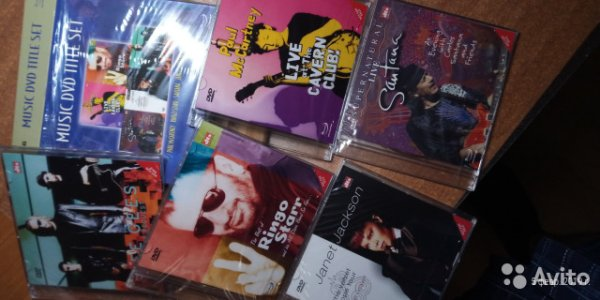 Подарочный Бокс от LG -music DVD THE SET- 5 DVD с DTS 5/1