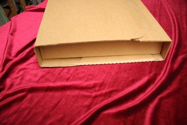 Упаковка для пересылки пластинок. Нано-технологичная, картон высшего сорта
