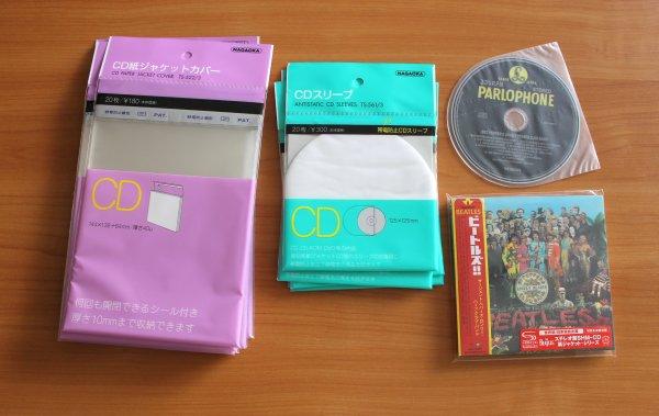 Внешние и внутренние пакеты для miniLP-CD (Japan)