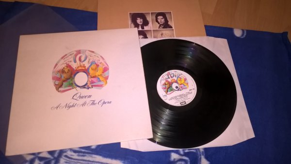 Queen(A Night At The Opera)UK 1st press