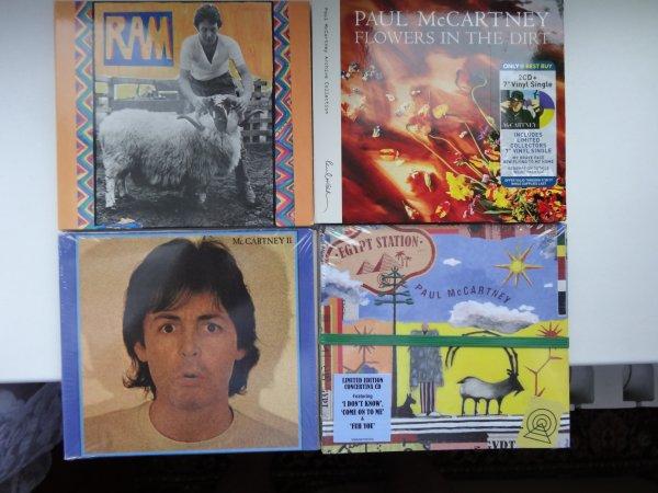 PAUL McCARTNEY EGYPT STATION HMV deluxe edition and more + cd в подарок